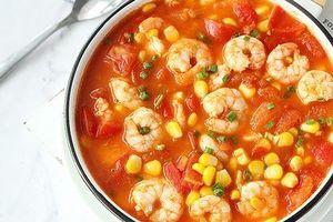 Tôm nấu cà chua lại thêm hạt này được món bổ dưỡng cho cả nhà