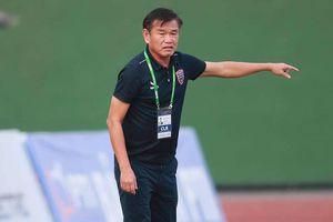 HLV Phan Thanh Hùng nói gì sau khi giúp Bình Dương đánh bại Hà Nội FC?
