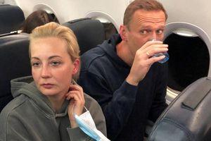 An ninh Nga bắt giữ vợ của chính trị gia đối lập Alexei Navalny