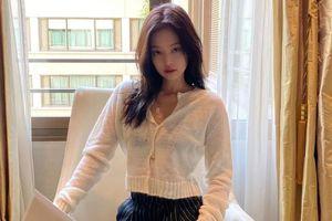 Mách nàng cách phối áo cardigan chuẩn như sao Hàn