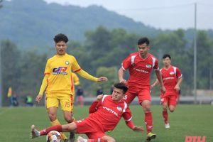 Sơ sẩy trong phòng thủ, U19 Thanh Hóa thất bại trước U19 Viettel