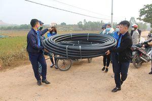 Quảng Yên: Khởi công công trình cấp nước sạch cho nhân dân xã Tiền An