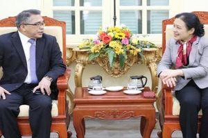 Đại sứ Philippines tại Việt Nam: Muốn hợp tác với VUFO, các hội thành viên để thực tế hóa và làm sâu sắc thêm quan hệ nhân dân hai nước