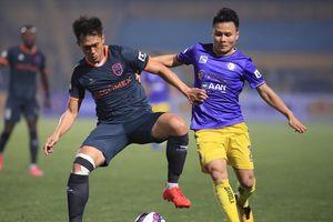 Gáo nước lạnh dội vào tham vọng của Hà Nội FC