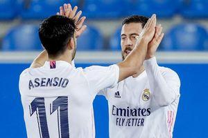 Hazard tỏa sáng trong trận thắng 4-1 của Real