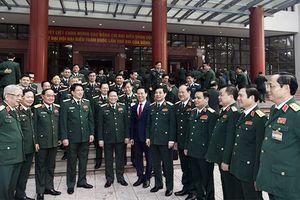 Quân ủy Trung ương gặp mặt đại biểu quân đội dự Đại hội XIII của Đảng