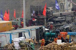 Trung Quốc: Giải cứu 11 thợ mỏ sau 2 tuần chôn vùi dưới lòng đất