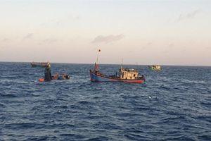 Bà Rịa - Vũng Tàu: Tìm thấy 1 thi thể ngư dân bị chìm trên biển