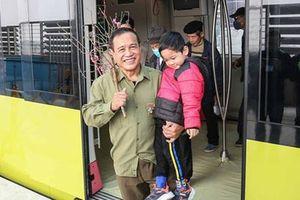 Háo hức với tuyến đường sắt Nhổn - ga Hà Nội