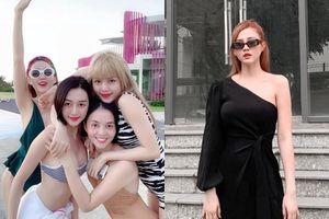 Chị Thiều Bảo Trâm xuất hiện diện mạo lạ giữa drama 'trà xanh'