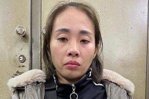 Bắt 'nữ quái' trà trộn vào phố đi bộ Hà Nội trộm cắp