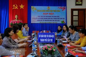 Công Đoàn Giáo dục Việt Nam chúc tết cán bộ giáo viên tại TP Cần Thơ