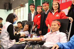 Sôi nổi ngày hội Chủ nhật Đỏ tại Bắc Giang