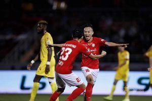 Video bàn thắng TP.HCM 2-0 Hà Tĩnh
