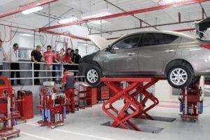 Nissan tiếp tục cho dừng hoạt động một nhà máy