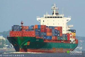 Tàu container Thổ Nhĩ Kỳ bị cướp biển tấn công, 15 thủy thủ bị bắt cóc