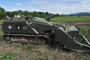 Nga đẩy mạnh sử dụng robot công binh trong rà phá bom mìn