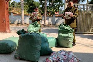 Lạng Sơn: Thu giữ 9.000 chiếc chân gà nhập lậu có nhãn hàng hóa bằng tiếng Trung Quốc