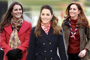 Ngắm công nương Kate quàng khăn cổ, chị em tuổi băm ôm được rổ bí kíp diện đẹp chơi Tết