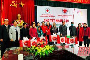 Ấm áp Chợ tết nhân đạo tại huyện Hậu Lộc