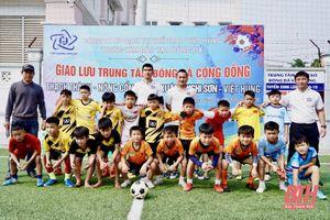 Giao lưu, tuyển chọn tài năng trẻ tại trung tâm đào tạo bóng đá Việt Hùng