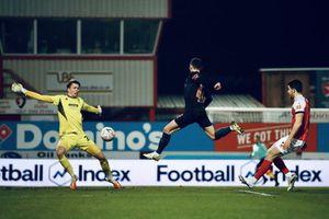 Cheltenham Town 1-3 Man City: Ngược dòng trong 10 phút cuối trận