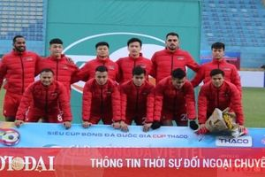 Viettel sẽ đá sân trung lập ở AFC Champions League