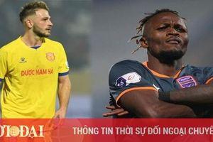 Hai ngoại binh sút tung lưới Hà Nội tại V-League 2021 cùng bị thanh lý sớm