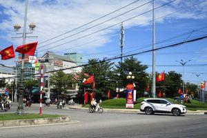 Ninh Thuận rực sắc cờ, hoa chào mừng Đại hội XIII của Đảng
