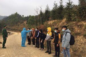 Bắt 7 người nhập cảnh trái phép từ Trung Quốc