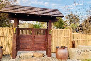 Vườn Zen - Điểm đến mới nhận khách vào bằng… cây