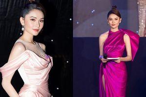 Á hậu Thùy Dung xinh đẹp lộng lẫy trong vai trò MC chung kết 'Đại Sứ Hoàn Mỹ 2020'