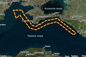 Chưa rõ lý do Nga bất ngờ đóng cửa hàng nghìn km vuông trên vùng biển của Biển Đen