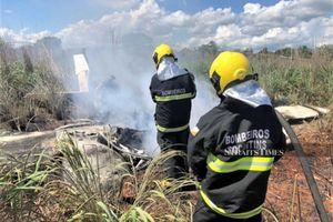 Máy bay rơi, chủ tịch CLB và 4 cầu thủ qua đời