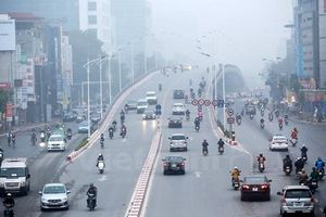 Thời tiết hôm nay 25/1: Hà Nội trời rét, có mưa nhỏ và sương mù