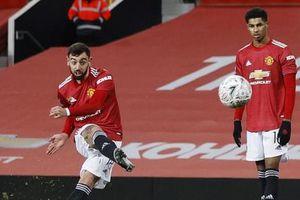 Bruno Fernandes sút phạt đẳng cấp, Man United đá bay Liverpool khỏi Cúp FA