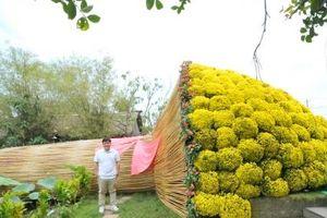 Bó hoa Cúc mâm xôi Bát Tiên xác lập kỷ lục lớn nhất Việt Nam