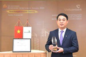 Vietcombank nhận danh hiệu quản trị và ứng phó tốt với dịch COVID-19