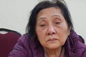 Bắt giữ người phụ nữ 74 tuổi gây ra hàng loạt vụ trộm cắp