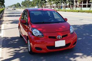 Cận cảnh Toyota Aygo giá rẻ, chỉ 200 triệu tại Sài Gòn