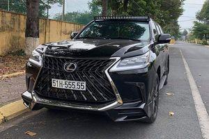 Ngắm Lexus LX570 hơn 8 tỷ, biển 'ngũ quý 5' ở Sài Gòn
