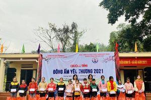 'Đông ấm yêu thương' đến với học sinh xã Quảng Ngần (Vị Xuyên, Hà Giang)