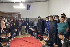 100 cảnh sát tham gia triệt phá sới bạc 'khủng' ở Lạng Sơn