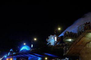 Cầu Rồng Đà Nẵng phun lửa, phun nước phục vụ Tết Nguyên đán Tân Sửu 2021