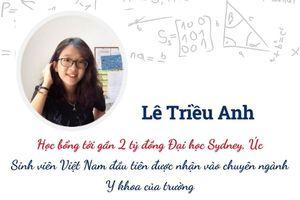 Chân dung nữ sinh Việt đầu tiên nhận học bổng trường y danh tiếng nhất xứ sở chuột túi
