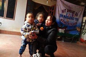 Diến biến mới nhất vụ 2 cháu nhỏ bị bỏ rơi giữa trời giá rét ở Hà Nội