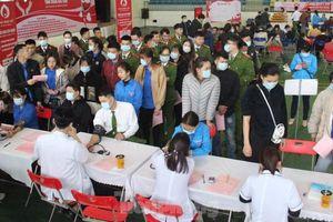 Sôi nổi ngày hội hiến máu Chủ nhật Đỏ ở tỉnh Bắc Kạn
