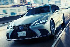 Lexus LS 500 2021 bản nâng cấp được ra mắt tại Australia
