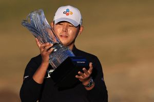 Tay golf Hàn Quốc vô địch The American Express