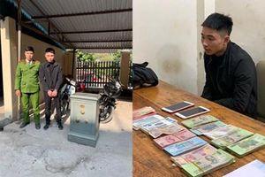 Sửng sốt phát hiện thủ phạm đục két sắt lấy cắp 100 triệu đồng